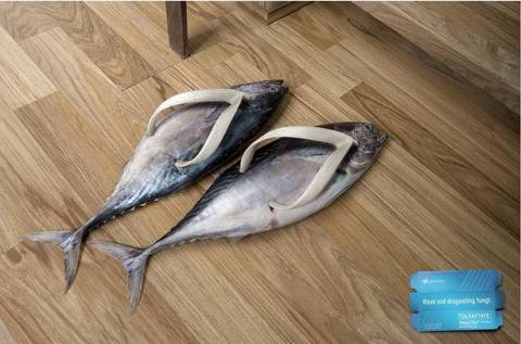 Крем из рыб для ног