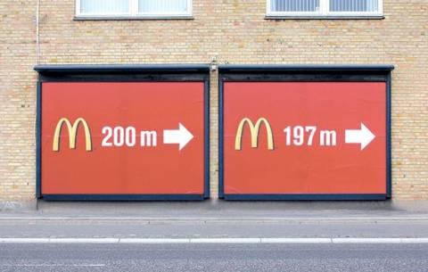 Бигборды McDonalds
