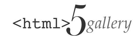 Галерея HTML5